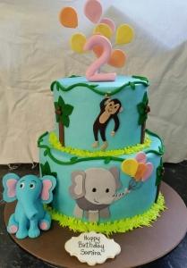 Elephant and Monkey Balloons