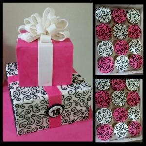 Swirls With Matching Cupcakes