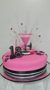 18th Martini Cake