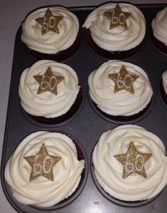 #60 Star Cupcakes