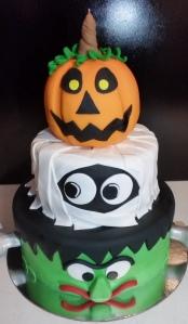 Pumpkin, Mummy & Frankenstein
